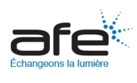 Logo association française de l'éclairage