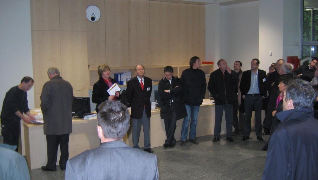 Le Centre Régional Normandie en réunion