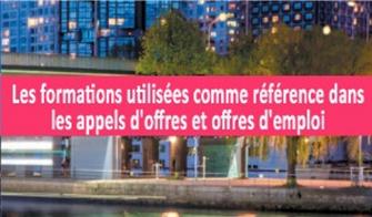 Formation éclairage utilisées comme référence dans les appels d'offres et offres d'emplois en éclairage
